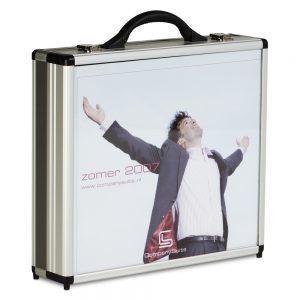 Koffer met custom made print