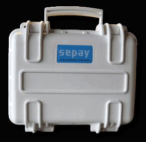 Reiskoffer voor pin apparatuur