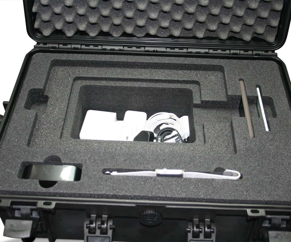PE hardschuim inlay met lagen