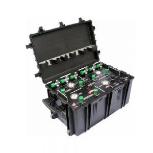 waterdicht kist voor water pressure apparatur links foto