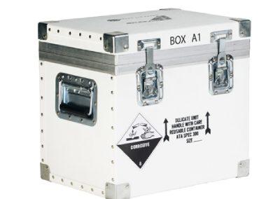 aluminium kist voor corrosive gases