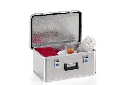 Aluminium kist voor picnic