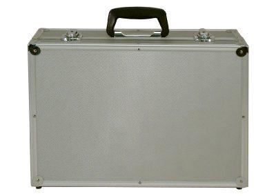 Aluminium koffer dicht
