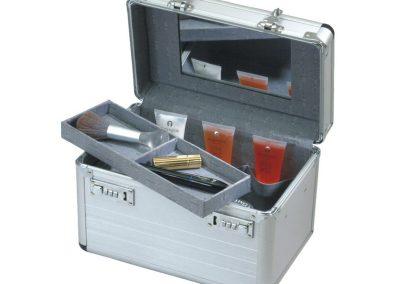 Makeup aluminium koffer met slot