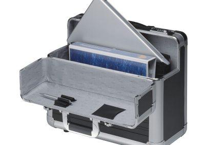 Aluminium koffer voor laptop en evenementen