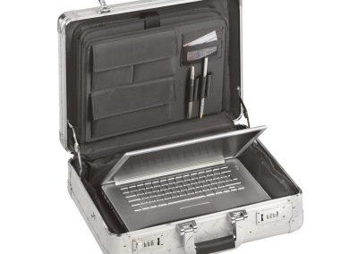 Aluminium koffer voor laptop