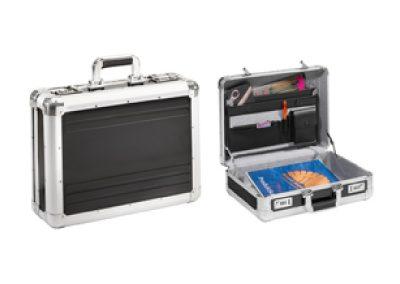 Aluminium koffer voor promotie materialen