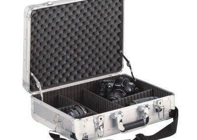 schuim interieur voor camera Aluminium koffer