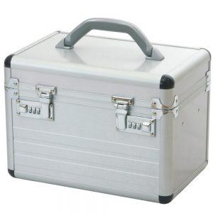 Aluminium koffer met slot