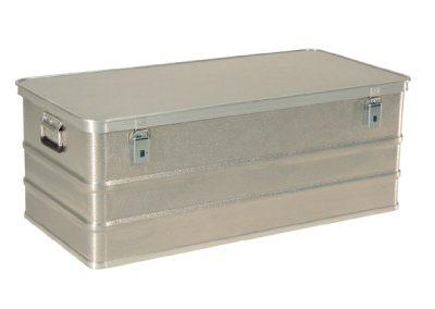 Aluminium koffer side foto