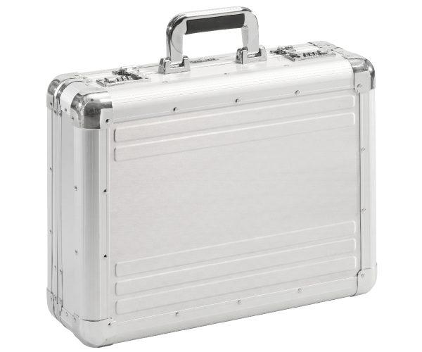 sliver aluminium koffer met slot