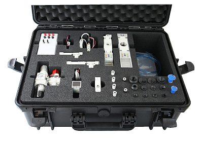 schuiminterieur Inlay in waterdichte koffer voor tech apparatuur