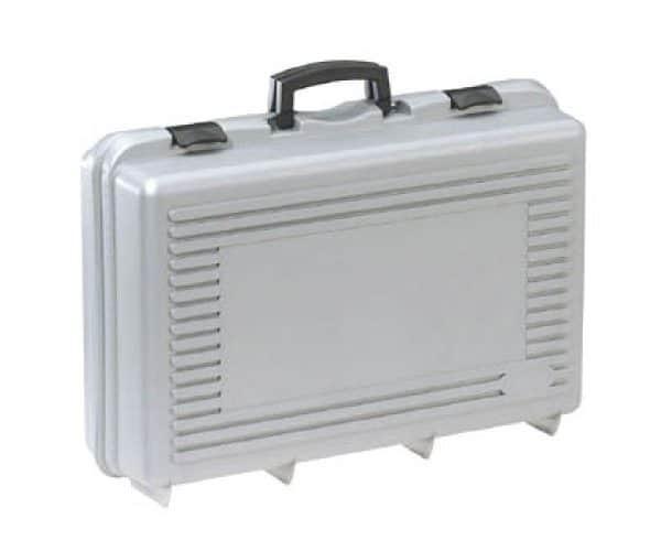 Standaard Kunststof koffer grijs