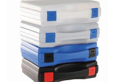 Tekno kunststof koffers in verschillende kleuren