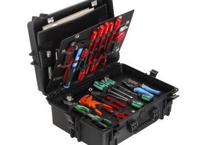 waterdicht koffer voor gereedschap koffer met opmaat inlay