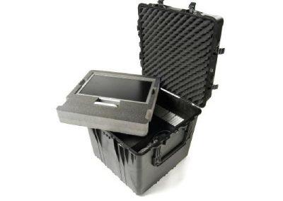 waterdicht kist voor presentatie tv apparatuur