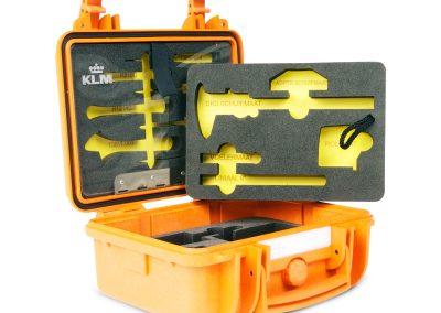 waterdicht koffer met schuim interieur voor gereedschap