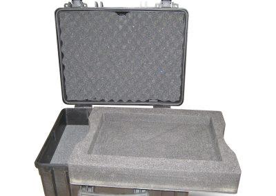 Waterdichte koffer uitneembaar interieur