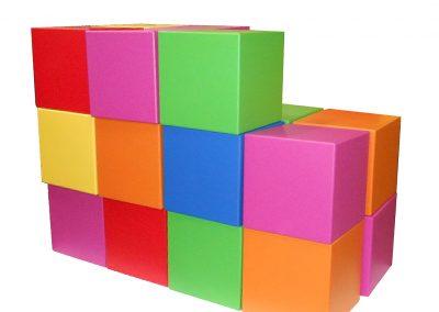 Zacht schuim gecoate blokken voor verpakkingen
