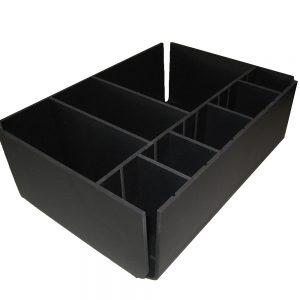 kuntstof interieur - forexbakje met flexibele indeling