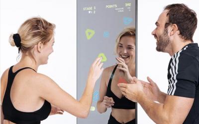 Tas voor fitness spiegel